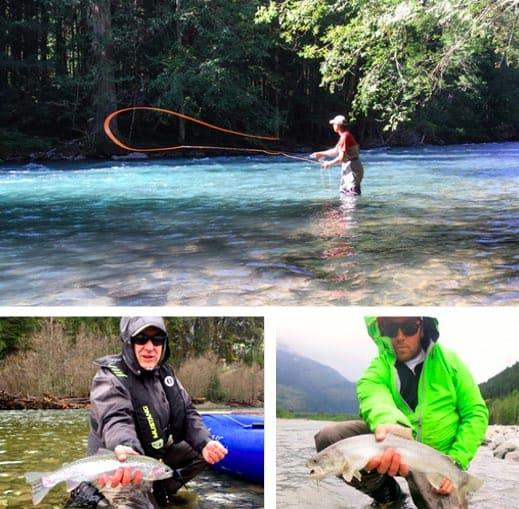 Vancouver fly fishing guides vancouver fishing trips for Fly fishing charters