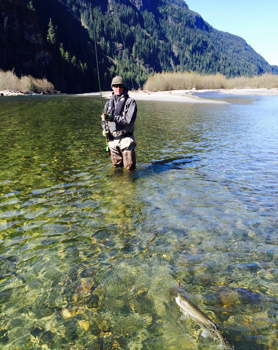 Best fly fishing trip in vancouver bc vancouver fishing for Best fishing vacations