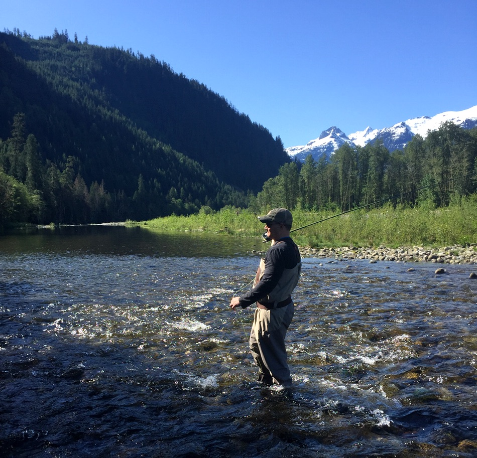 Summer fly fishing vancouver british columbia vancouver for Fly fishing charters