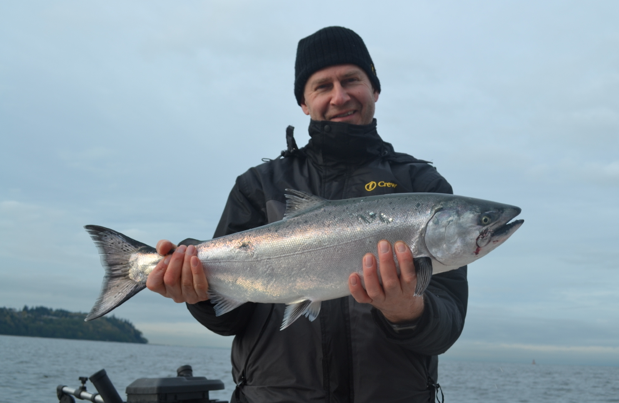 Salmon fishing vancouver biteson charters rachael edwards for Salmon fishing vancouver