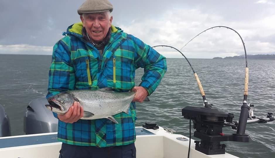 Good salmon fishing continues in the Gulf Islands
