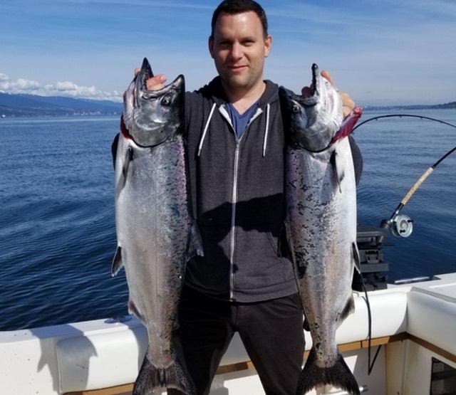 Vancouver salmon fishing charters salmon fishing for Salmon fishing vancouver
