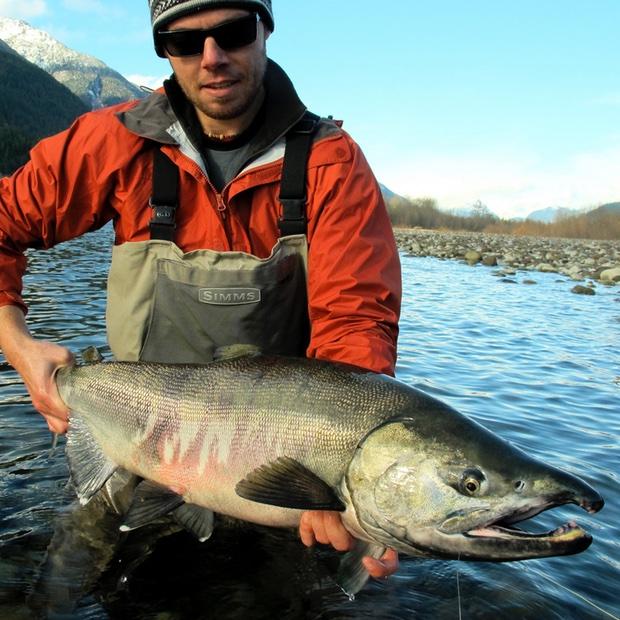Fall Salmon Fly Fishing