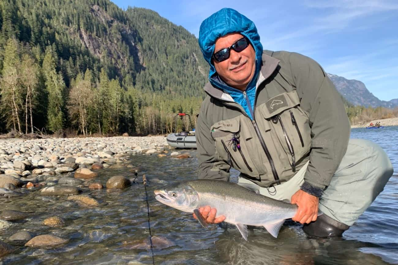 fall fishing report Vancouver