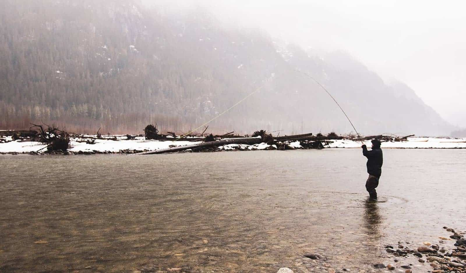 Winter Fly Fishing for Bull Trout